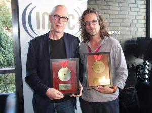 IMUC-Herzblutmedaille für Micki Meuser und Matthias Hornschuh | Foto: MusikWoche
